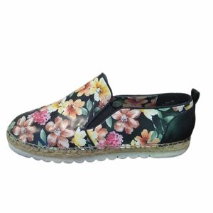 Nine West Noney Floral Synthetic Slip Ons 8